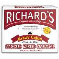 Richard's Krazy Cajun Sausage - 4 lbs.