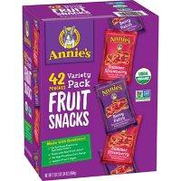 Annie's Organic Fruit Snack Variety Pack (0.8 oz., 42 ct.)