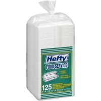 """Hefty Food Service Containers Rectangle 9 3/4"""" x 5"""" x 3 1/4"""" (125 ct.)"""