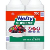 Hefty Supreme Foam Bowls Heavyweight, 12 oz. (300 ct.) Deals