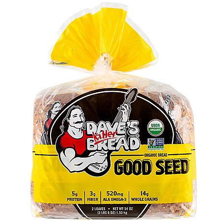 Dave's Killer Bread Organic Good Seed (27oz / 2pk)