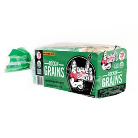 Dave's Killer Bread Rockin' Grains Organic English Muffins (12 ct., 26.4 oz.)