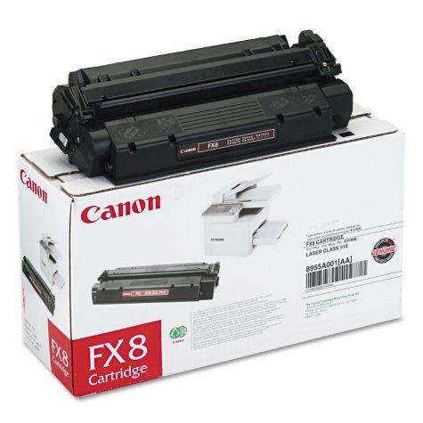 Canon FX8 Toner Cartridge, Black (3,500 Yield)