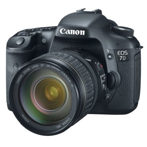 Canon EOS 7D 18.0MP Digital SLR Camera with EF 28-135mm f/3.5-5.6 IS USM