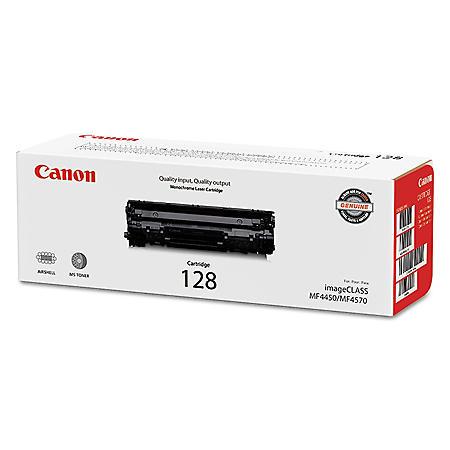 Canon 128 Toner Cartridge, Black (2,100 Page Yield)