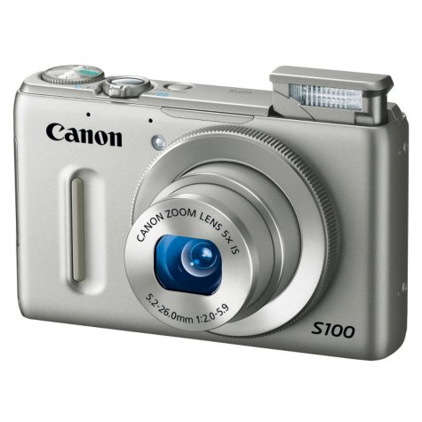 Canon S100 12.1MP Digital Camera - Various Colors