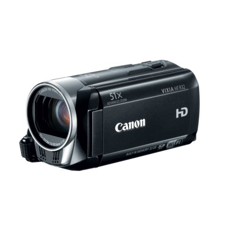 Canon HF R32 Full HD Camcorder with 32x Optical Zoom and 32GB Internal Memory