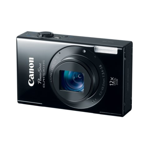 Canon ELPH 530 HS 10.1MP Digital Camera with Wifi - Black