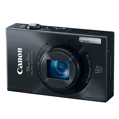 Canon ELPH 520 HS 10.1MP Digital Camera - Various Colors