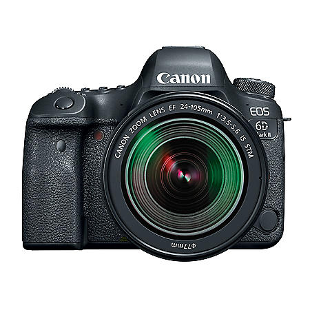 Canon EOS 6D Mark II DSLR Camera with EF 24-105mm IS STM Lens