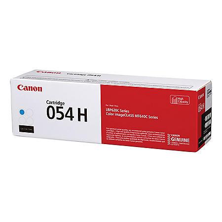 Canon 3027C001, High-Yield Toner, 2,300 Page-Yield, Cyan