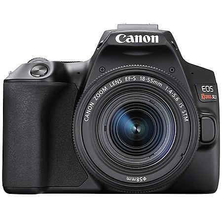 Canon EOS Rebel SL3 DSLR Camera with EF-S 18-55mm IS STM Lens