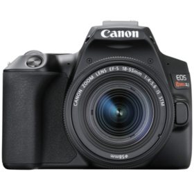 Canon EOS Rebel SL3 DSLR Camera with EF-S 18-55mm IS STM Lens