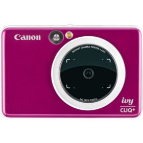Canon IVY CLIQ+ Instant Camera Printer (Various Colors)