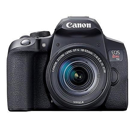Canon EOS Rebel T8i EF-S 18-55mm IS STM Lens Kit