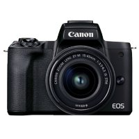 Canon EOS M50 Mark II + EF-M 15-45mm IS STM Kit (Choose Color)