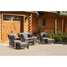 Strathmere 6-Piece Lounge Set, Choice of Colors