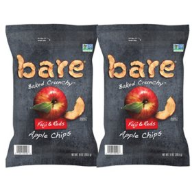 Bare Baked Crunchy Fuji & Reds Apple Chips (10 oz., 2 pk.)