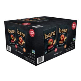 Bare Baked Crunchy Apple Chips, Variety Pack (20 ct.)