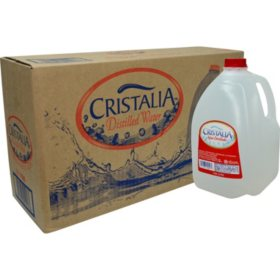 Cristalia Distilled Water (3/1 gallon)