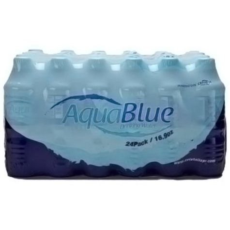 Aqua Blue Water - 16.9 oz. - 24 pk.