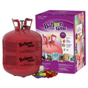 Balloon Time Jumbo Helium Kit (50 Balloons)