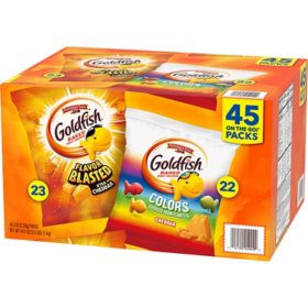 Pepperidge Farm Goldfish Variety Pack (0.9 oz., 45 ct.)