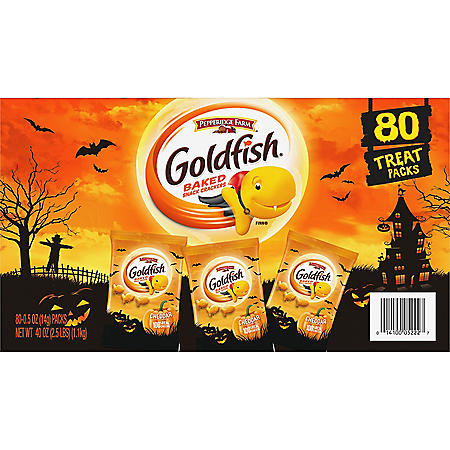 Goldfish Halloween Mulitpack (0.5 oz., 80 ct.)
