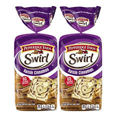 Pepperidge Farm® Swirl Bread - 2/16 oz. loaves