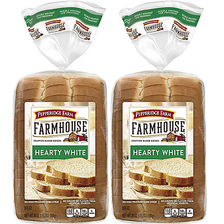 Pepperidge Farm Farmhouse Hearty White Bread (2 pk., 24 oz.)