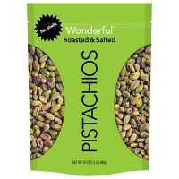 Wonderful Pistachios Shelled, Roasted and Salted (24 oz.)