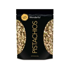 Wonderful Pistachios, Roasted Lightly Salted (48 oz.)