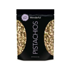 Wonderful Pistachios, Salt and Pepper (40 oz.)