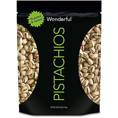 Wonderful Pistachios, Roasted and Salted (48 oz.)