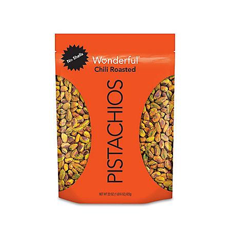 Wonderful Pistachios Chili Roasted (22oz)
