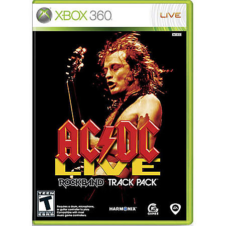 AC/DC Live: Rock Band Track Pack - Xbox 360 - Sam's Club