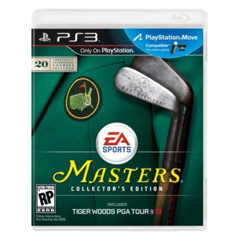 Tiger Woods PGA Tour 13 Collector's Edition - PS3 Move