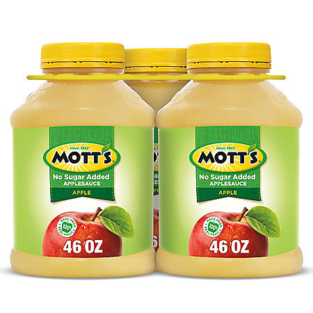 Mott's Unsweetened Applesauce (46 oz., 3 ct.)