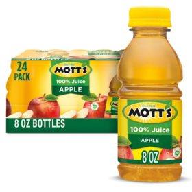 Mott's 100% Apple Juice (8 fl. oz., 24 pk.)
