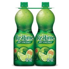 ReaLime 100% Lime Juice (32 oz., 2 pk.)