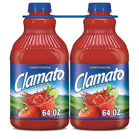 Clamato Tomato Cocktail (64 fl. oz., 2 pk.)