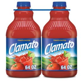 Clamato Tomato Cocktail (64 fl. oz., 2 pk.)