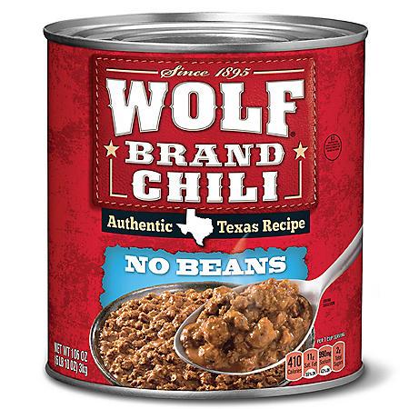 "Wolf Brand ""No Bean"" Chili (106 oz.)"