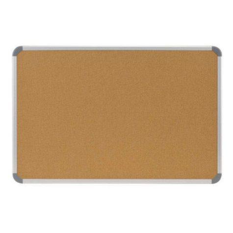 Cintra Radial Edge Natural Corkboard - 3' x 4'