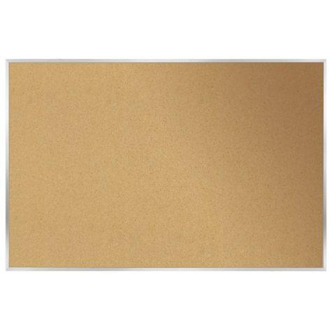 "Ghent  Aluminum Frame Bulletin Board, 18.0"" x 24.0"" (Natural Cork)"