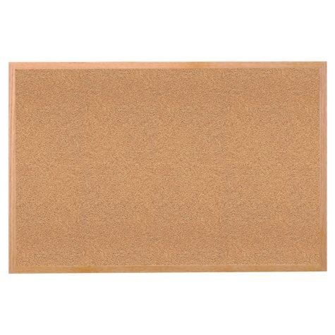 "Ghent Wood Frame Cork Bulletin Board, 36"" x 48"""