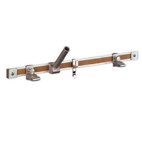 "Ghent Satin Aluminum One-inch Map Rail, 6' x 1"""