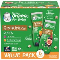 Gerber Organic Puffs, Variety Pack (1.48 oz., 6 pk.)