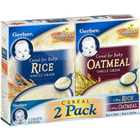 Gerber - Cereal for Baby Combo Pack, 16 oz. - 2 pk.