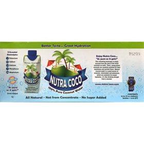 Nutra Coco Pure 100% Coconut Water (11.16oz / 12pk)